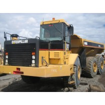 CAT D400E-II S/NO. 8PS00400 DISMANTLING