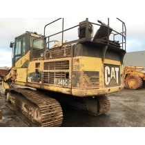 CAT 345CL S/NO. TBA00190 DISMANTLING