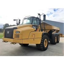 CAT 735C ARTICULATED DUMPTRUCK